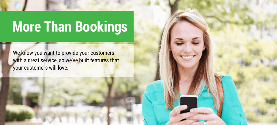 More than just bookings